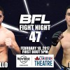 BFL47 | Castillo vs Barry | Vancouver MMA