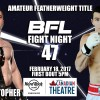 BFL47 | Christopher vs Jung | Vancouver MMA
